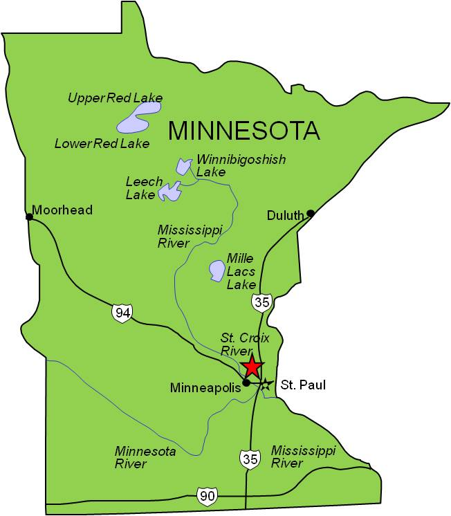 MN map