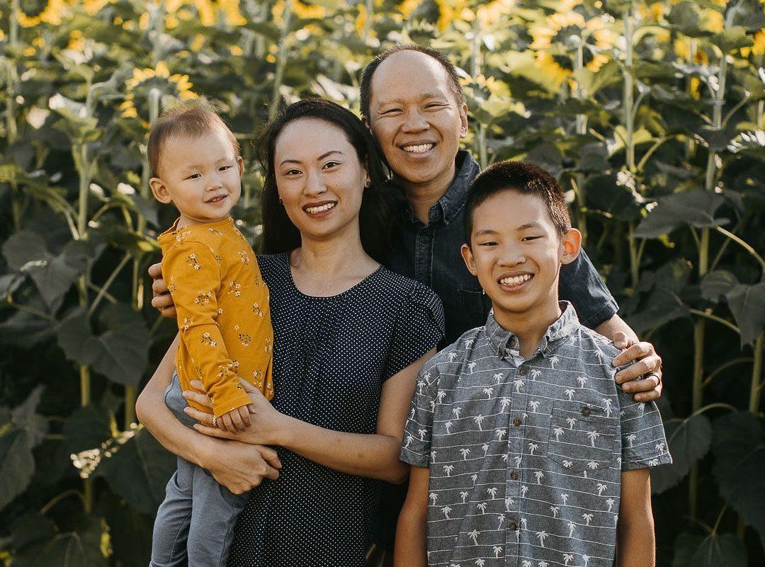 Liu Family August 2020