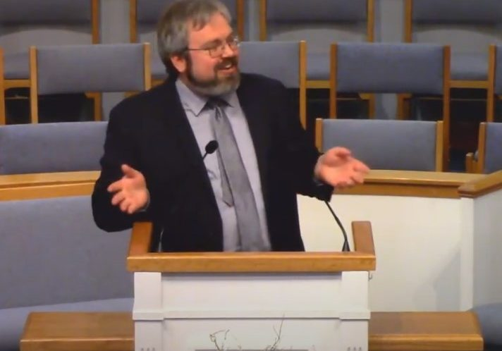 2021, 2-14 Waeber preaching at GBPC, OH