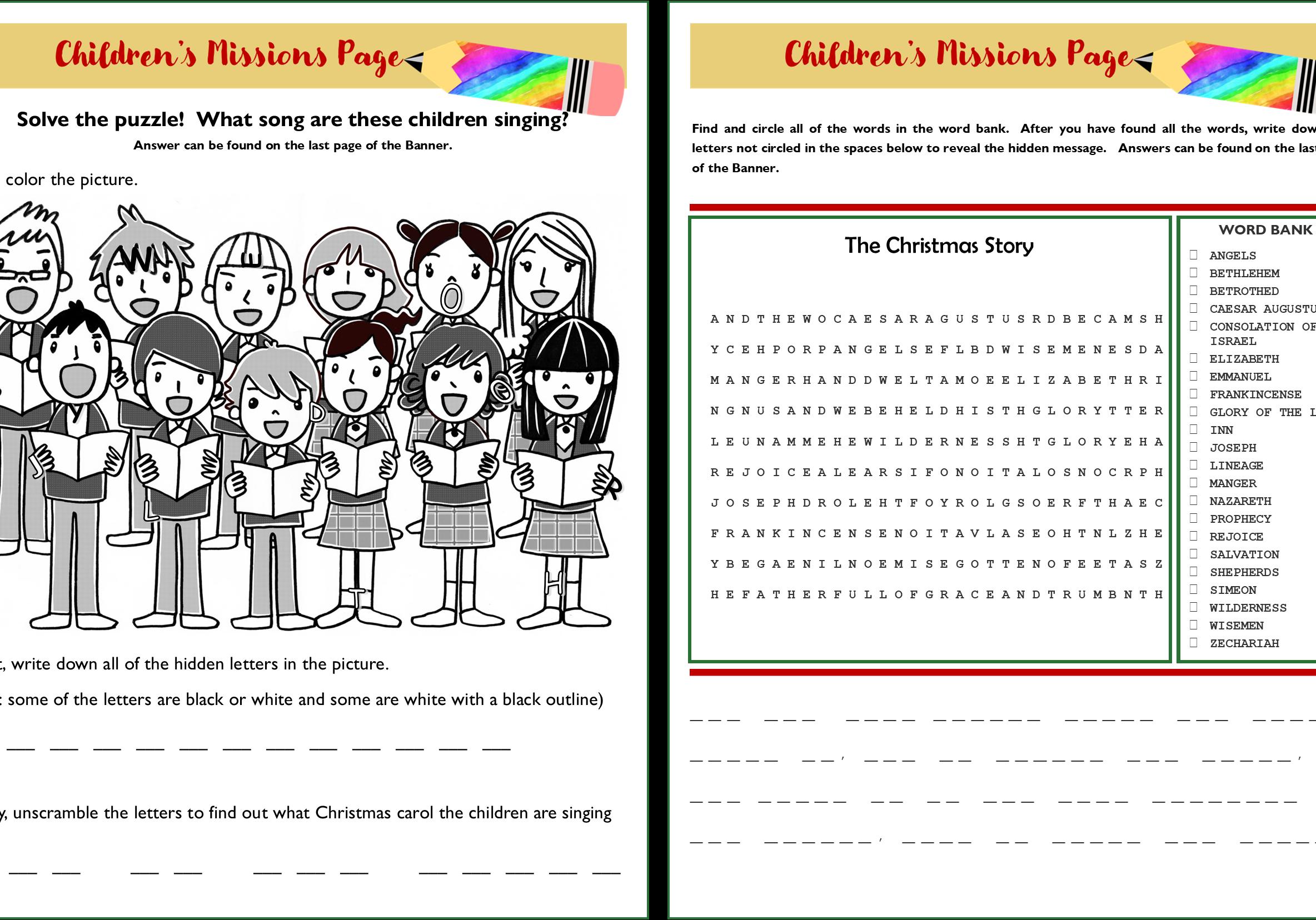 Children's missions page (nov-dec) pages 1-2