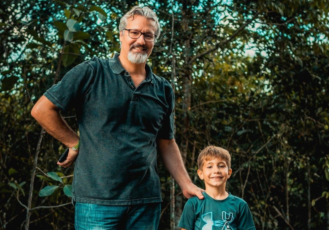 Doug and Silas, cropped