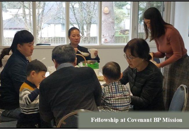 Fellowship covenant BP mission