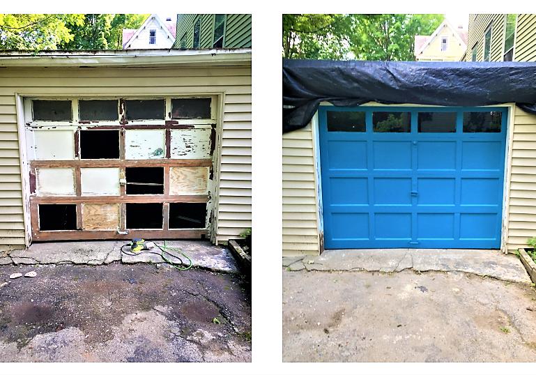 Garage door renovations, edited