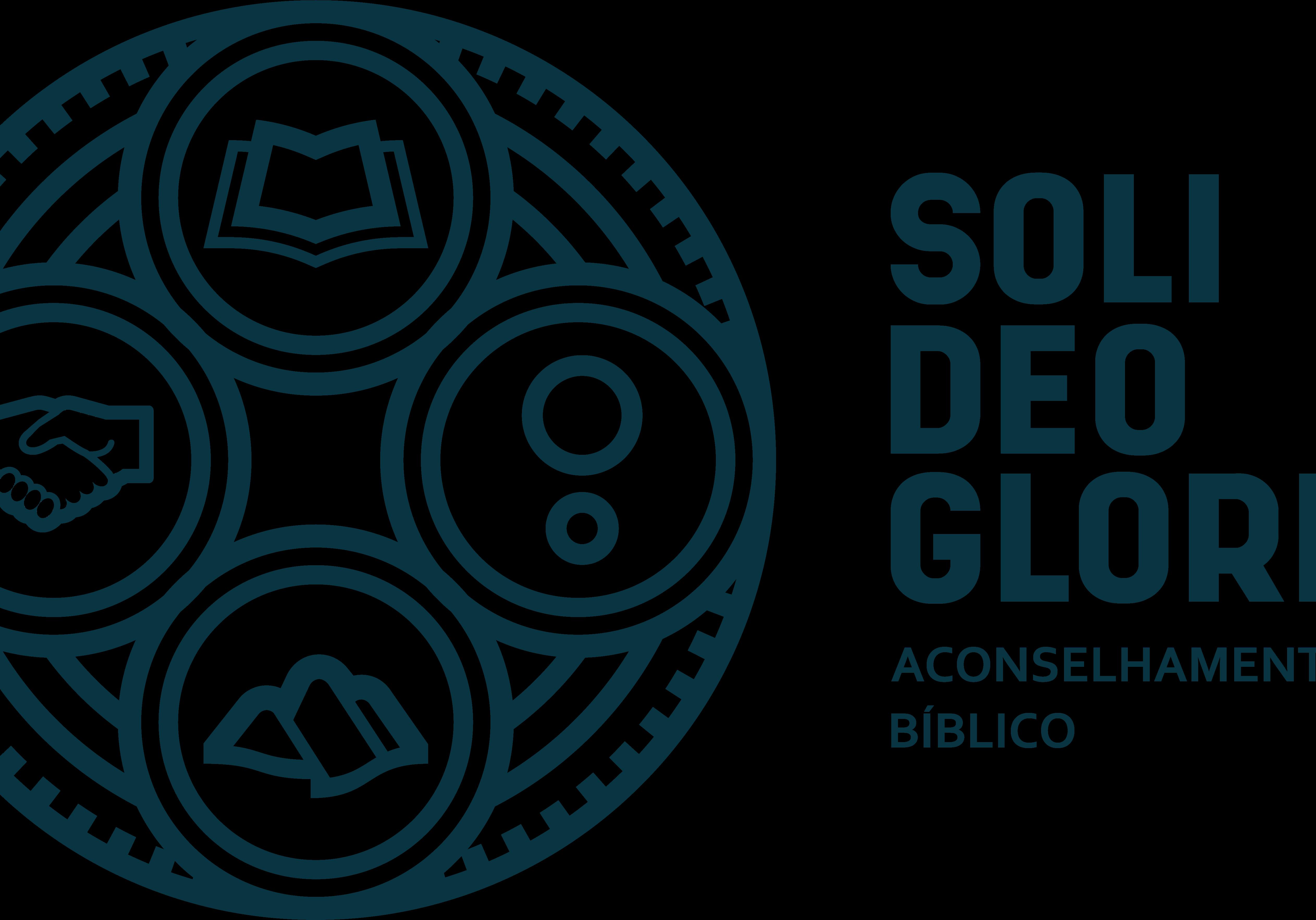 SoliDeoGloria - Horizontal - Azul