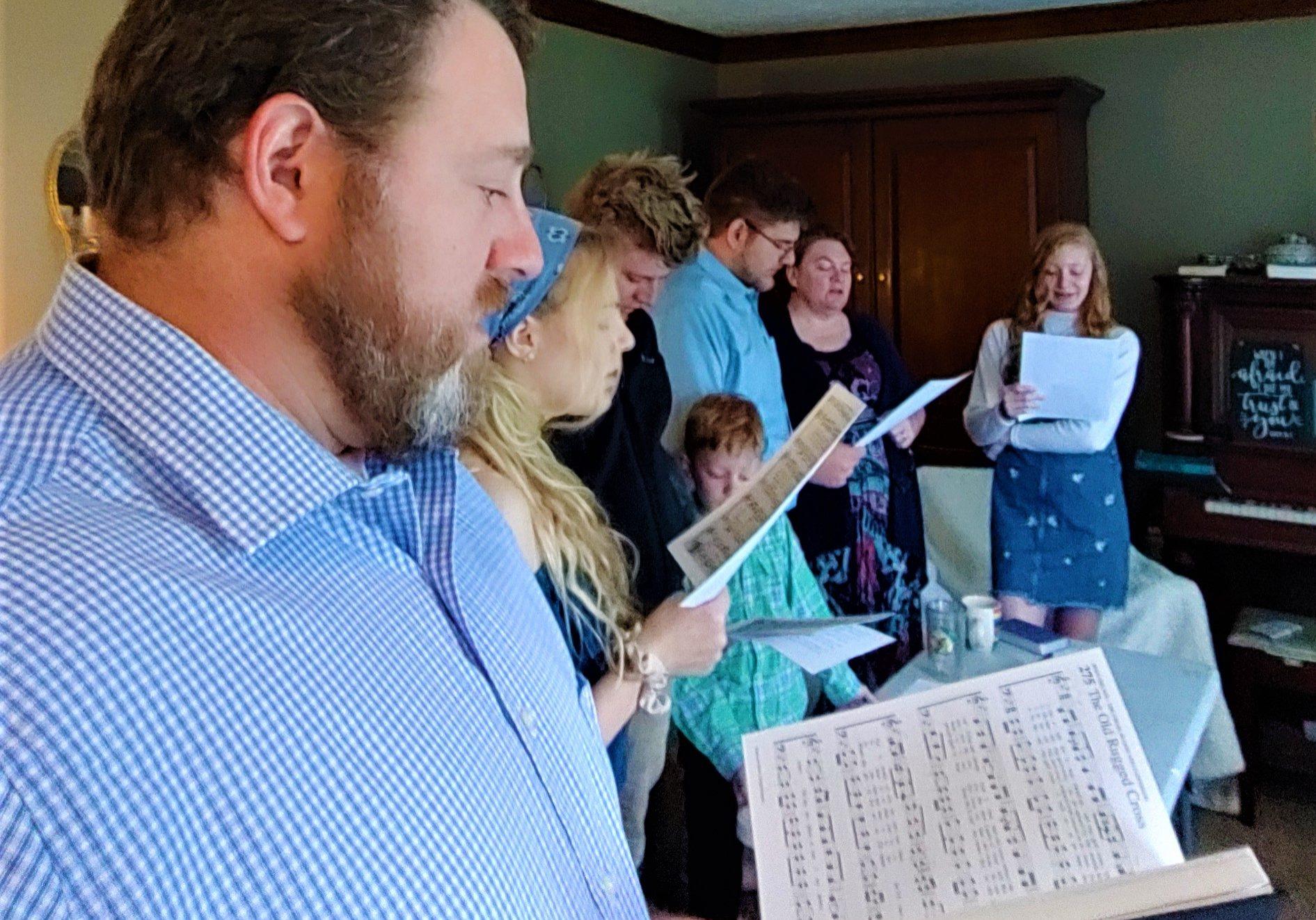 Southerland family Sunday worship, edited