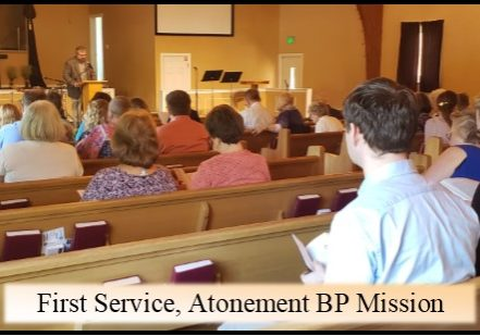 first service Atonement